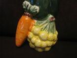 Плакетка - Овощное ассорти  с морковью - малолика., фото №4