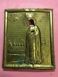 Оклад под икону'Св.пр.Серафим Саровский'(13х11)см, фото №2