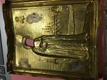 Оклад под икону'Св.пр.Серафим Саровский'(13х11)см, фото №8