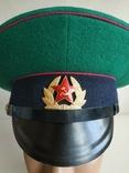 Фуражка пограничника ПВ КГБ СССР малиновый кант 1977 г, фото №8