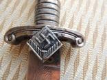 Тесак Имперской трудовой службы (RAD) образца 1937 г.  Третий Рейх (копия)., фото №8