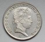 20 крейцеров 1841 г. Австрия, серебро, фото №4