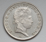 20 крейцеров 1841 г. Австрия, серебро, фото №5