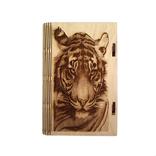 Шкатулка - тигр (175*115*25мм), фото №2