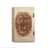Шкатулка - тигр 3 (175*115*25мм), фото №2