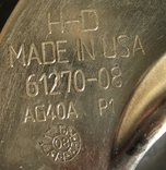 Харлей Девидсон Накладка на бензобак Хром Замок Made in USA 54 см, фото №12