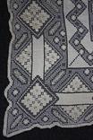 Старинная скатерть ручной работы 150х110, фото №6