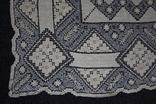 Старинная скатерть ручной работы 150х110, фото №10