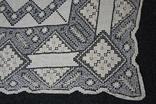 Старинная скатерть ручной работы 150х110, фото №11