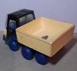 Грузовая машинка времён СССР длина 14 см., фото №4
