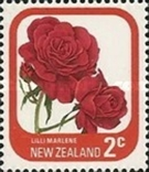 Новая Зеландия 1975 стандарт, розы, фото №2
