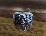 Кольцо с символикой СС копия в серебре 925., фото №2