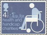 Великобритания 1975 инвалиды, фото №2