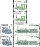 Швеция 1975 шведские локомотивы (пары), фото №2