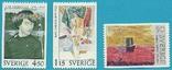 Швеция 1978 шведская живопись, фото №2