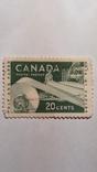 Марка Канады 20 центов, фото №2