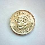 Австралия 1 шиллинг 1959 г., фото №2