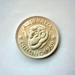 Австралия 1 шиллинг 1959 г., фото №3