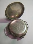 Часы серебряные швейцарские , старинные Cylindre., фото №3