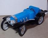 Ретро машинка из СССР игрушка КРУГОЗОР кабриолет, фото №4