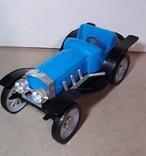Ретро машинка из СССР игрушка КРУГОЗОР кабриолет, фото №3