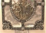 Икона серебро 925 проба 113,50 грамма, фото №5