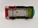 Машинка бензовоз СССР ОТК металл пластмасса 14 см. грузовая машина  № 2, фото №8