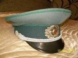 Фуражка  офицерская  фолькс  полиции  ГДР., фото №3