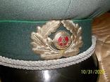 Фуражка  офицерская  фолькс  полиции  ГДР., фото №4