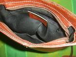 Сумочка кожаная Borse in Pelle на ремешке Италия, фото №10