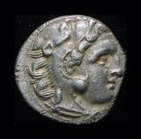 Александр Македонский драхма 336 г.д.н.э. серебро, фото №2