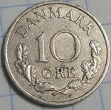 Дания 10 оре 1962, фото №2