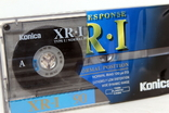 Аудиокассета Konica XR-1 90-( Не пользованная)-чистая, фото №6