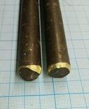 №451. Прутки латунь d16мм, 0,8кг., фото №3