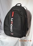 Рюкзак (для ноутбука) Crown 15.6 Vigorous x02 black. Состояние нового, фото №2