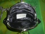 Сумочка  расшитая стеклярусом и пайетками, фото №5