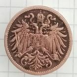 2 гелера 1911г Австро-Угорщына, фото №2
