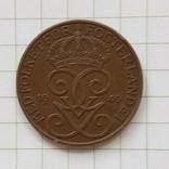 Швеция 5 эре 1940 год, фото №3