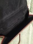 Винтажная женская английская кожаная сумка Clarks, фото №4
