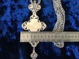 Крест распятие серебро золото, фото №5