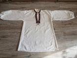 Чоловіча сорочка домоткане полотно Верховина, фото №11