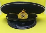 Суконная морская офицерский фуражка, фото №2