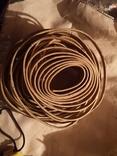 Проволка медная медь обмоточная для сварочного дросселя новая бухта, фото №5