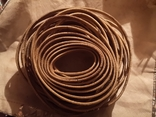 Проволка медная медь обмоточная для сварочного дросселя новая бухта, фото №2