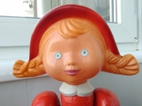 Кукла СССР Красная шапочка целлулоид, фото №6