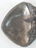 Пепельница  Аквалангист  (бронза), фото №3