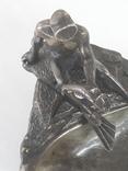 Пепельница  Аквалангист  (бронза), фото №9