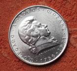 2 шиллинга 1931 г. Моцарт, Австрия, серебро, фото №3