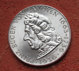 "2 шиллинга 1936 г. ""Принц Савойский"", Австрия, серебро, фото №3"