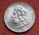 "2 шиллинга 1936 г. ""Принц Савойский"", Австрия, серебро, фото №4"